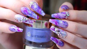 идеи цвет ногтей подростка